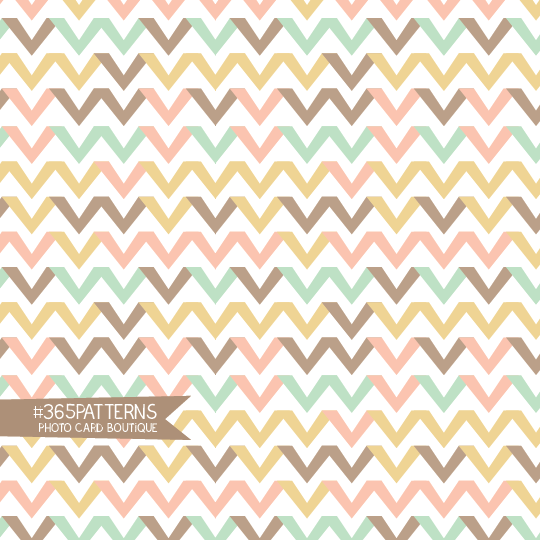 365 Patterns Chevron Ribbons