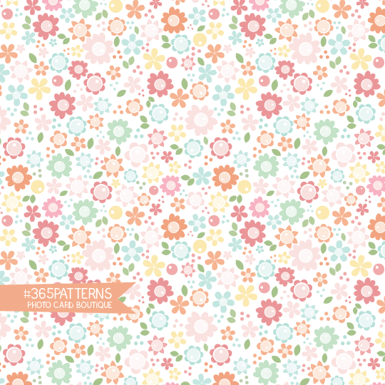 365 Patterns - Mother's Day Flowers