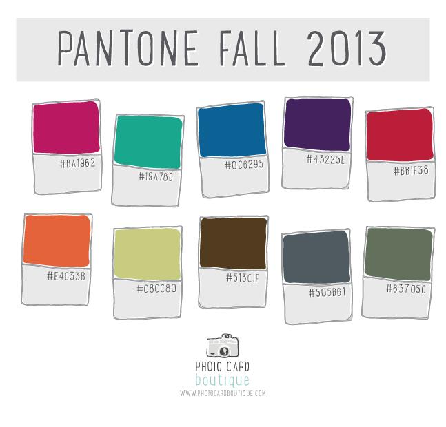 Pantone Fall 2013 Colors — Angie Sandy Art Licensing & Design