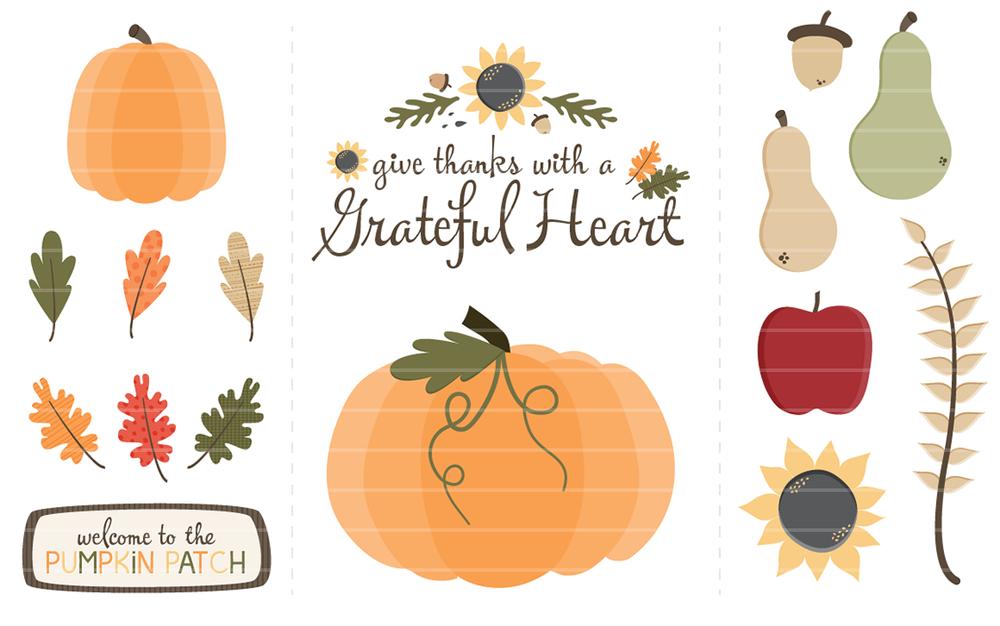 Happy Fall! New Seasonal Clip Art Available — Angie Sandy ...