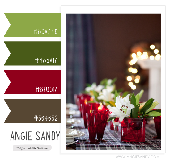 Color Crush 11.1.2013 #colorpalette #christmas