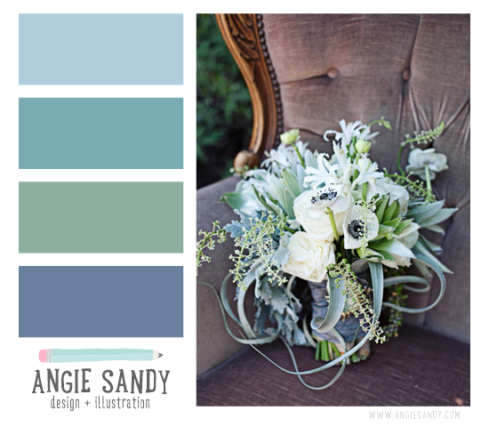 Color Crush 3.3.2014 - Angie Sandy Design + Illustration #colorpalette