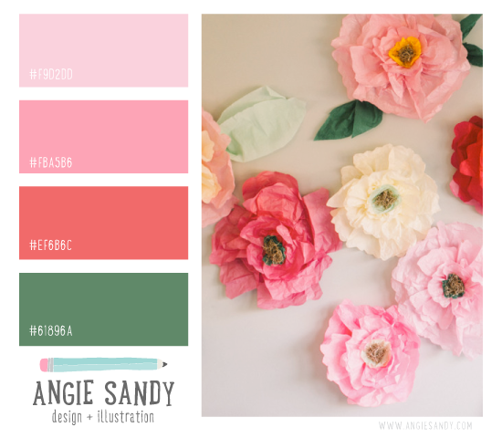 Color Crush 3.6.2014 - Angie Sandy #colorpalette