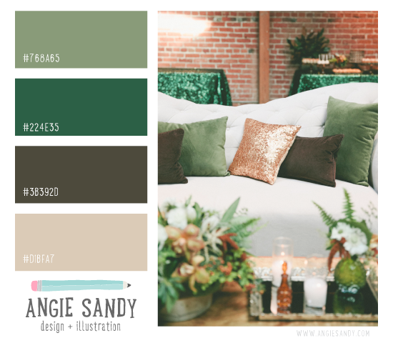 Color Crush 3.7.2014 - Angie Sandy Design #colorpalette