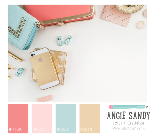 Color Crush 4.29.2014 - Angie Sandy #colorpalette #gold