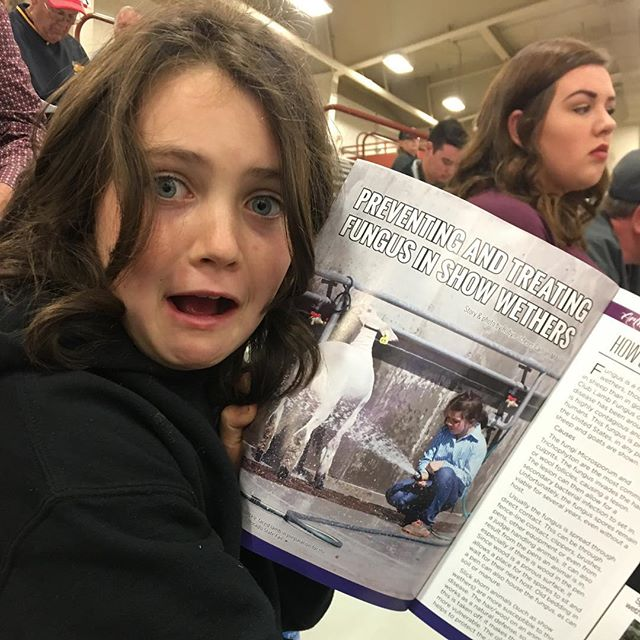 The face you make when you see yourself in your first magazine! #stockshowlife
