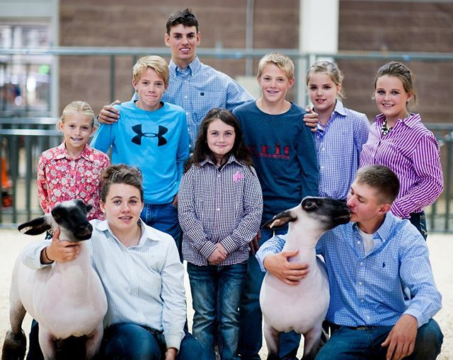 Best bunch of kids! #stockshowlife #4H #FFA #stockshowboutique