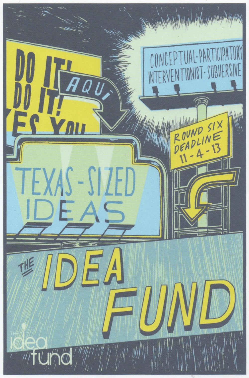 Idea Fund Postcard