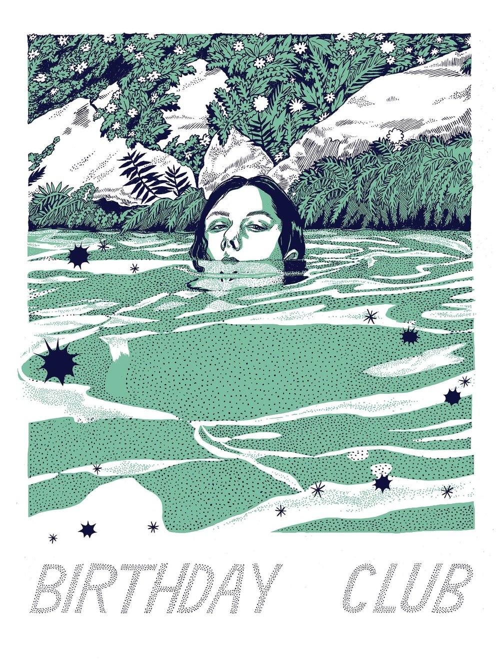 Birthday Club Gigposter