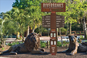 Riverbanks Signage