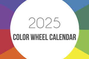 Color Wheel Calendar
