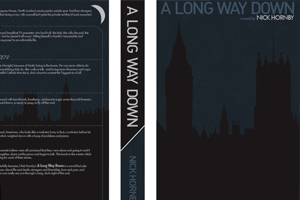 """A Long Way Down"" Book Cover"