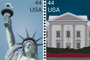 American Postage Stamps