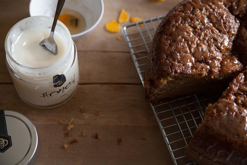honey glazed olive oil cake recipe Wendell Honey pipcreek