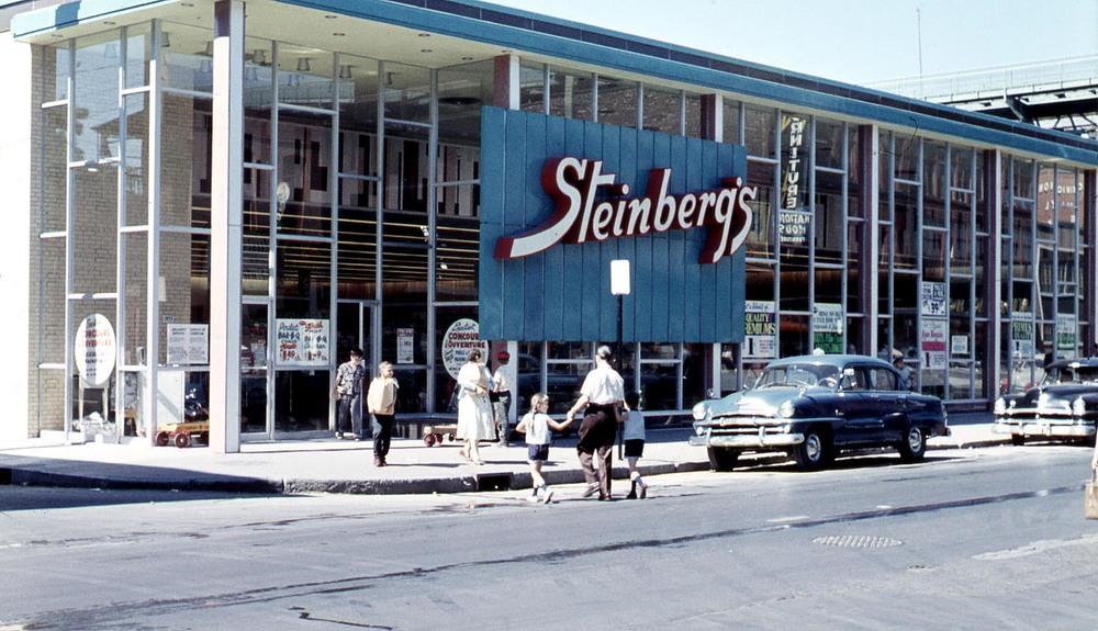 Steinberg's, rue Ste-Catherine, 1954