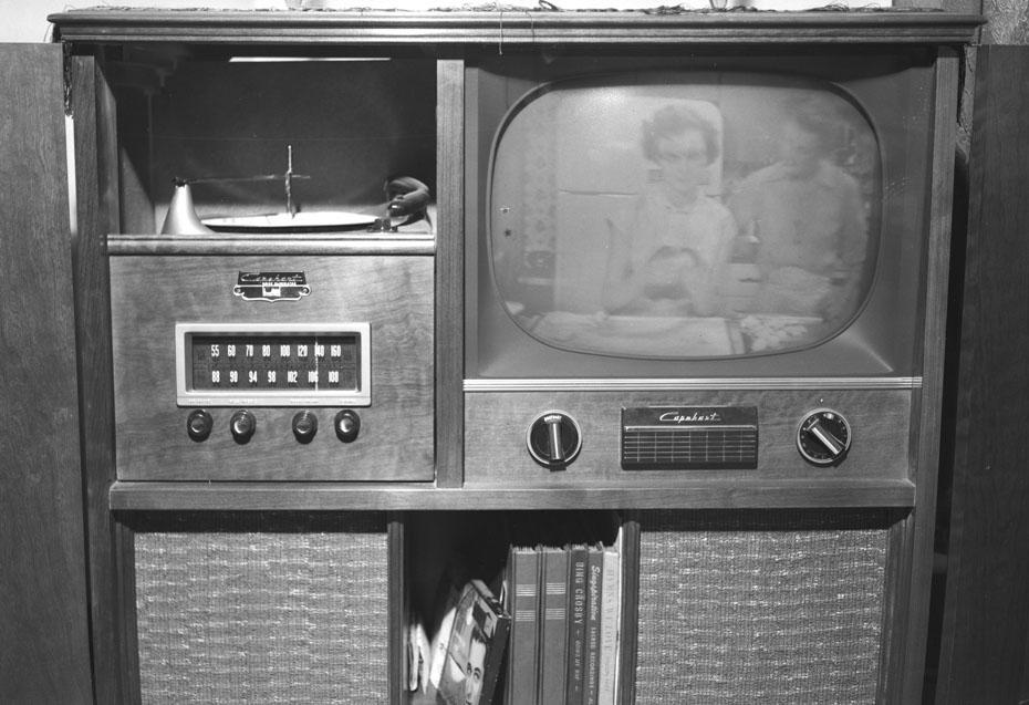 Capehart television, phonograph, radio - 1954
