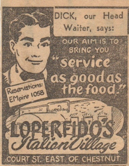 Annonce de 1948 / An add from 1948 featuring our one and only!