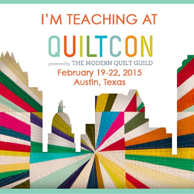 I'm so excited to be teaching 2 fabric dyeing workshops at QuiltCon! #quiltcon #quiltcon2015