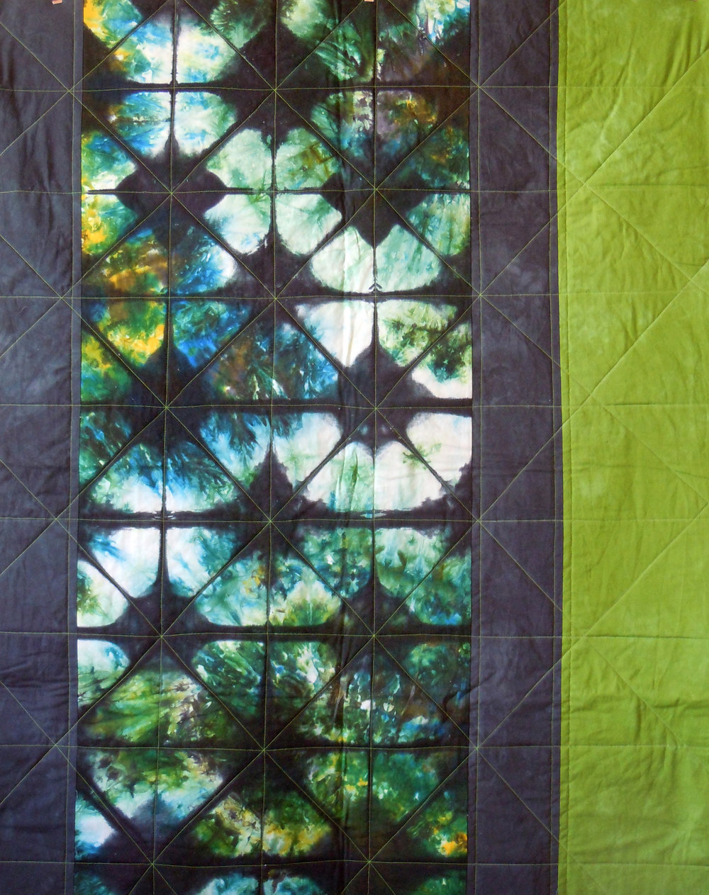 shibori quilt green and black.jpg