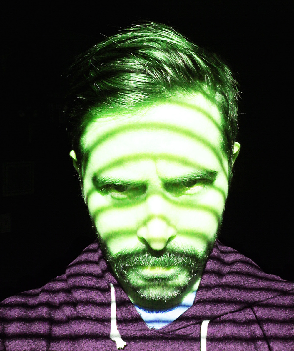 ...blinded by the gamma rays...