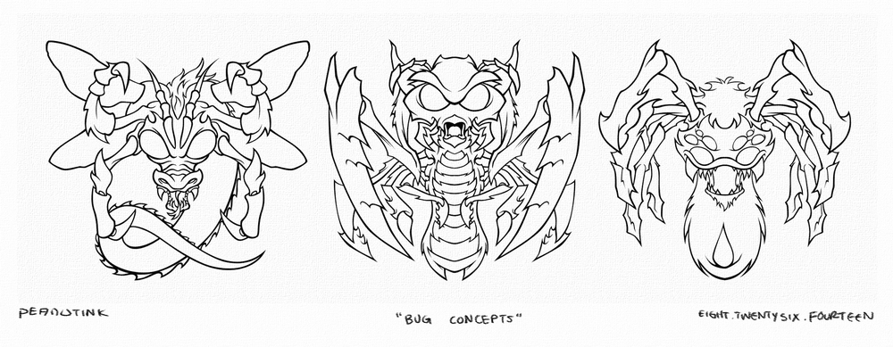 "...weekly ink #31 - ""bug concepts""..."