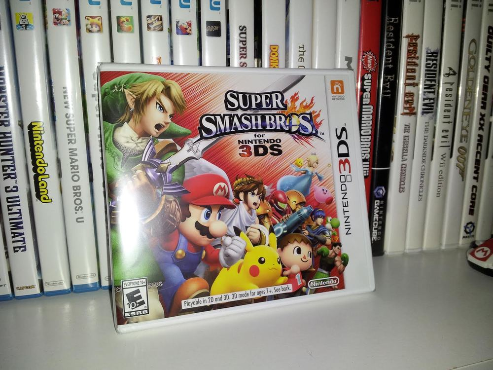 ...smash bros for nintendo 3DS...