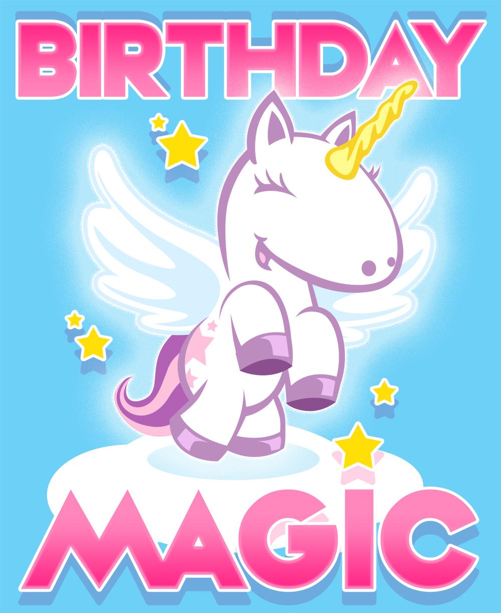 ...birthday magic card...