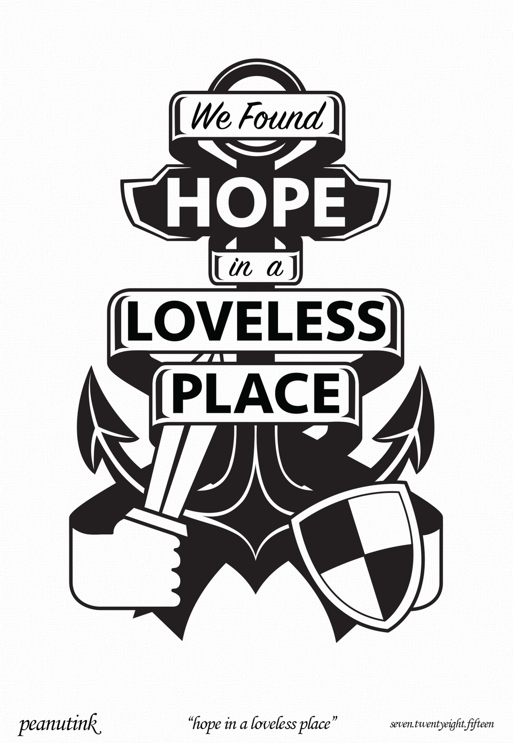 "...weekly ink #79 - ""hope in a loveless place""..."
