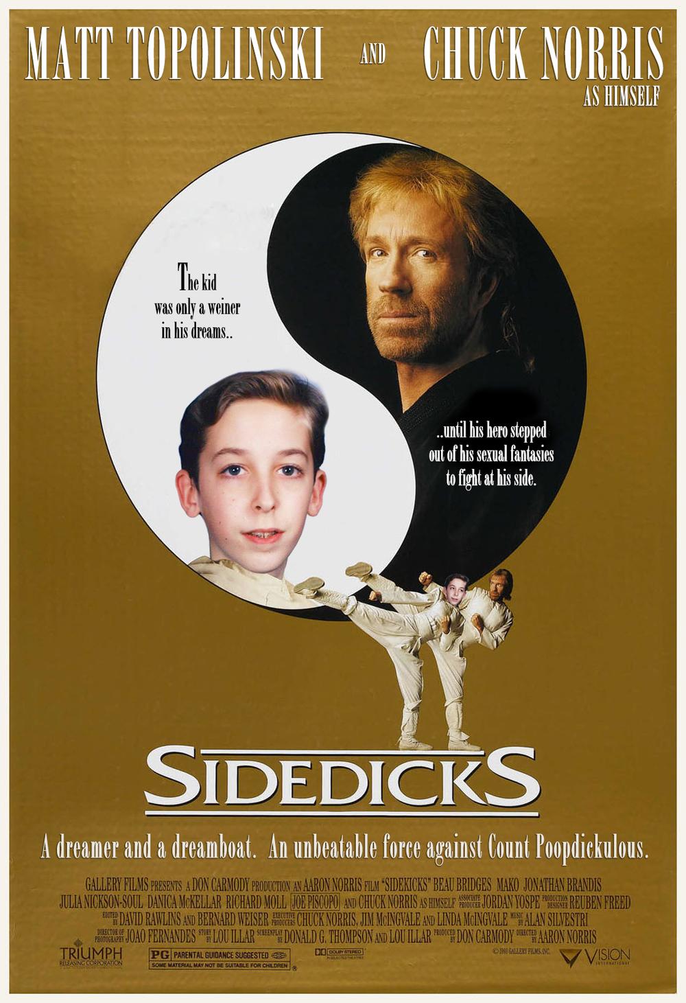 ...sidedicks...