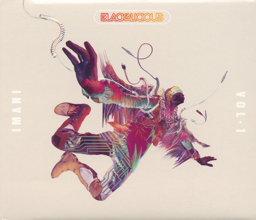 "...cover art for Blackalicious' latest album - ""Imani Vol.1"""