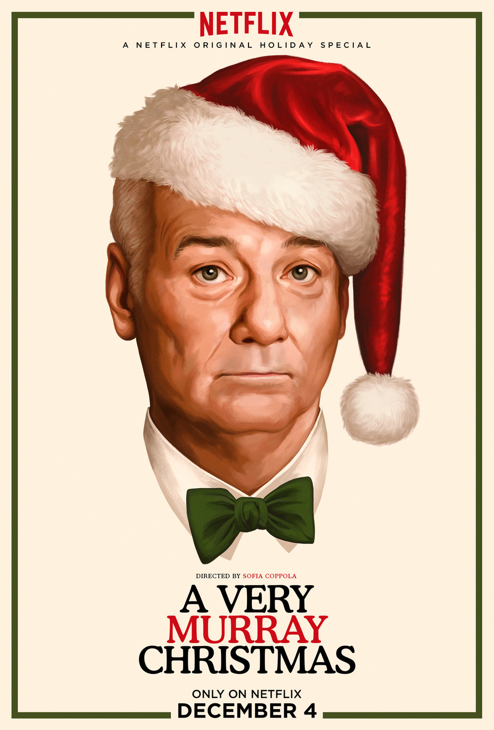 ...a very murray christmas poster art, done by Alex Osborn...