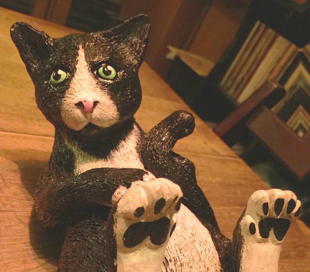 ...Flossie cat sculpt...