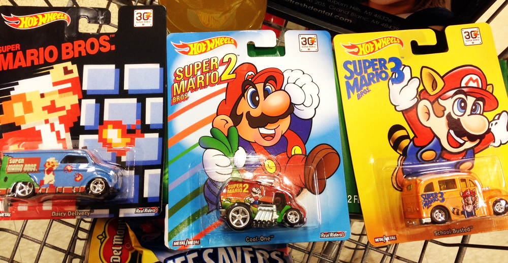 ..mario hot wheels..
