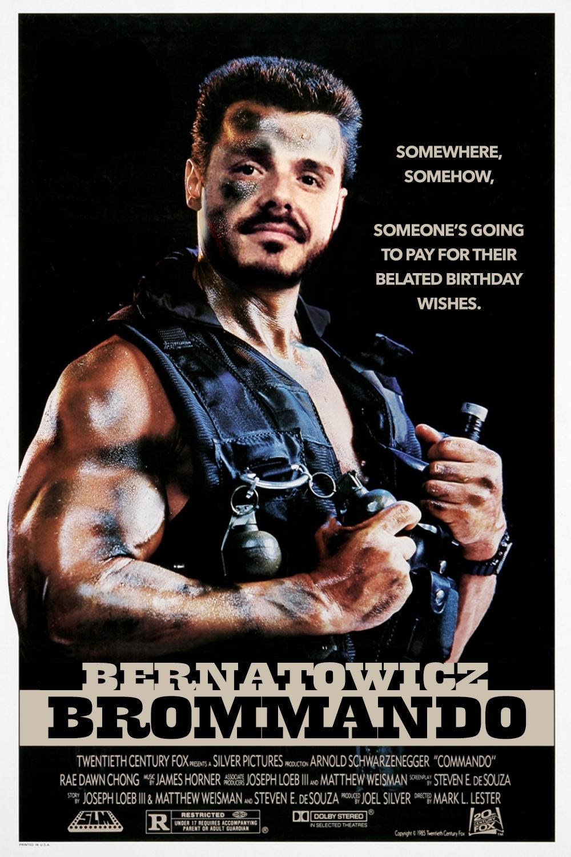..brommando movie poster..