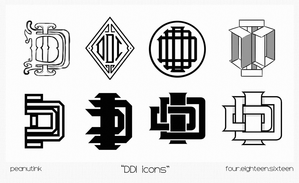 "...weekly ink#118 - ""DDI icons""..."