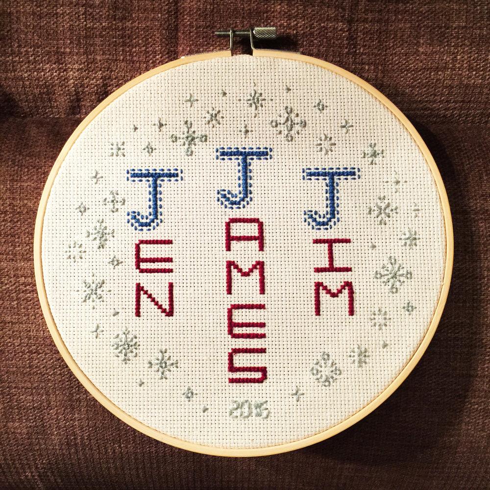 Jen, James & Jim