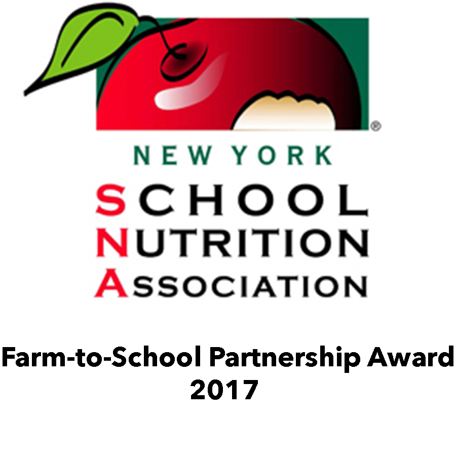 NYS School Nutrition Association award.jpg