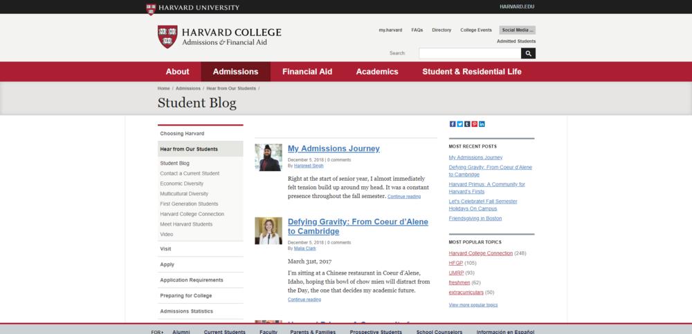Student Blog   Harvard College.png