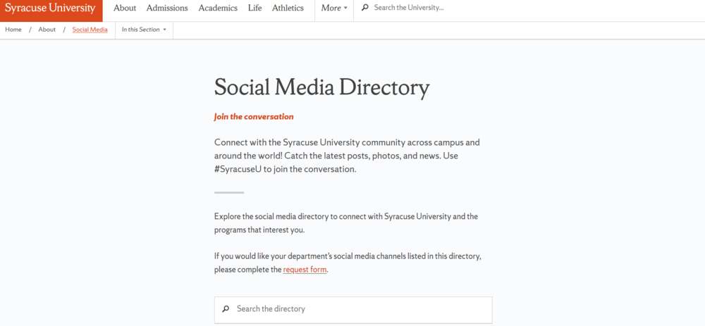 Social Media Directory   Syracuse University (1).png