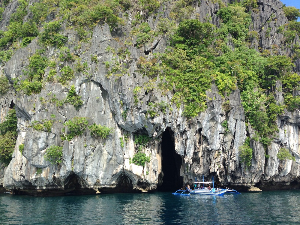 Cathedral Cave in Palawan