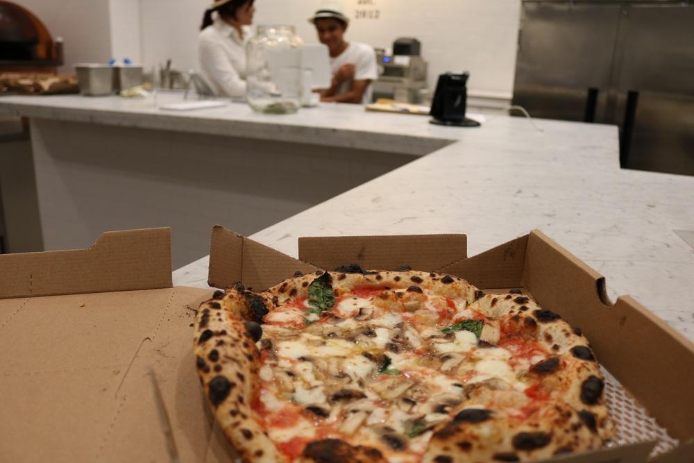 Pizza from Neopolitan Pizza