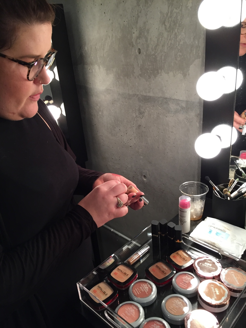 Makeup Artists Prepping for the Oscars