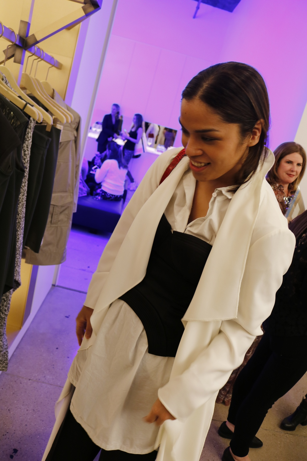 It involved a lot of events where Carla was just asked to attend fashion previews and to try the new collections. I just watched from the side.