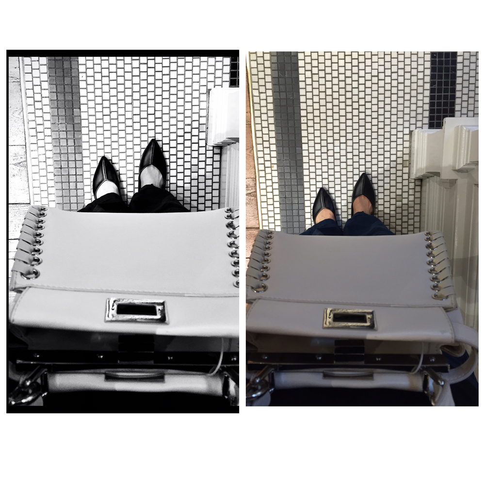 the left photo is the the after using VSCO