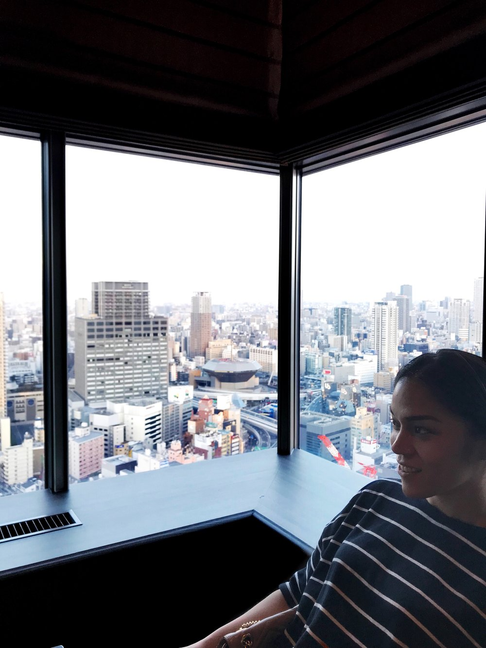 Penthouse dining in Swissotel Osaka