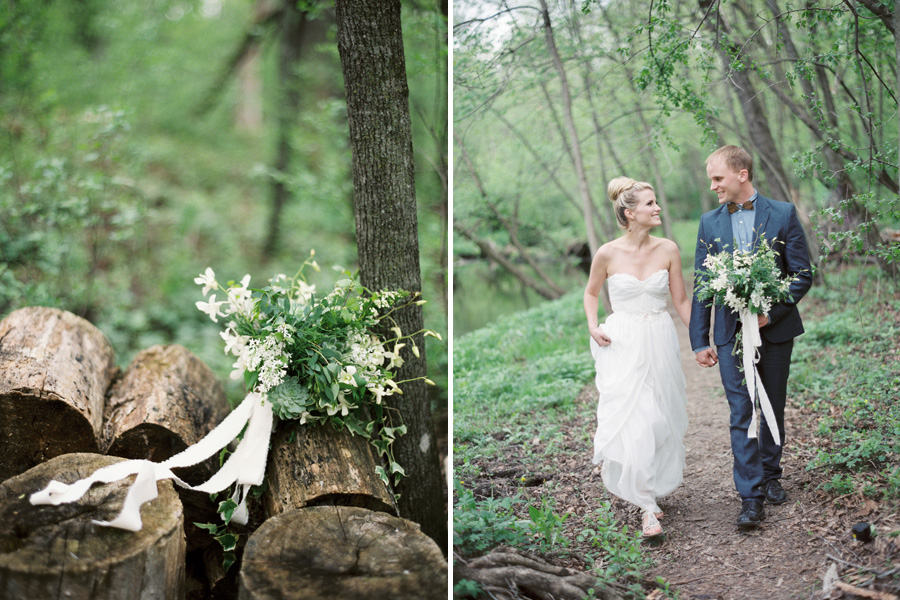 woodsy wedding bouquet, wedding in a forest, studio fleurette