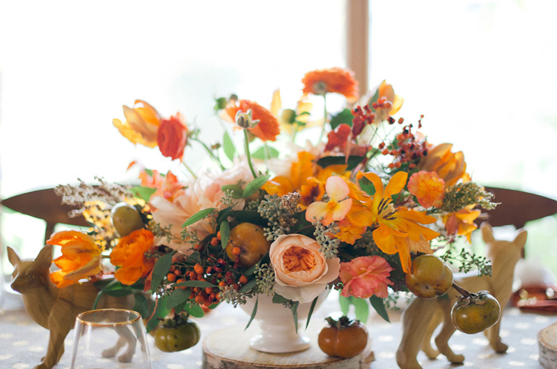 orange wedding flowers, studio fleurette, fall wedding.jpg