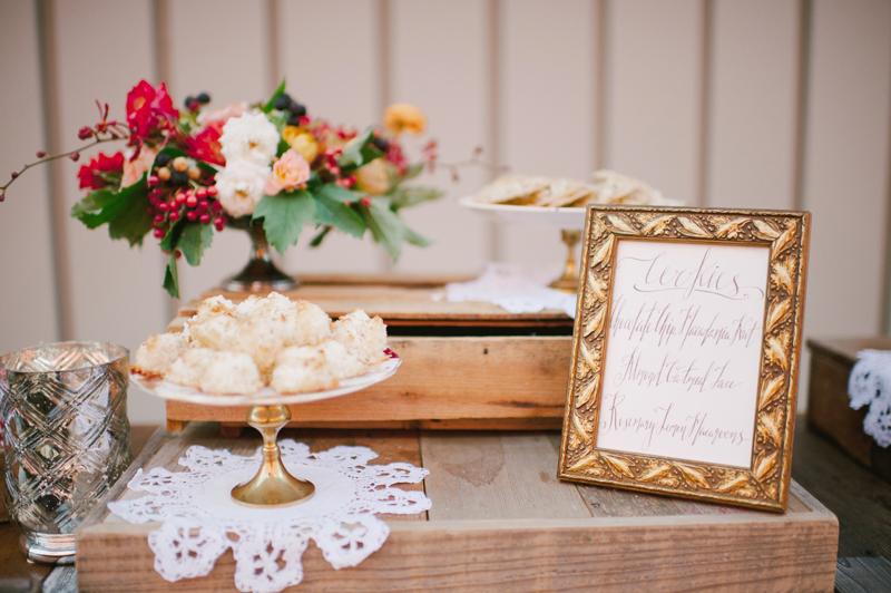 vintage dessert table, studio fleurette