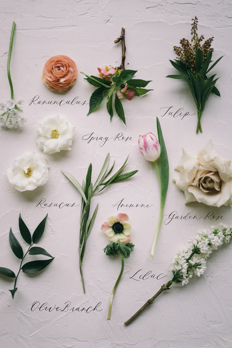 Wedding bouquet preservation studio fleurette twin cities then each flower is titled by way of custom hand calligraphy and placed beside its corresponding bloom what a modern way to transform a bouquet into an izmirmasajfo