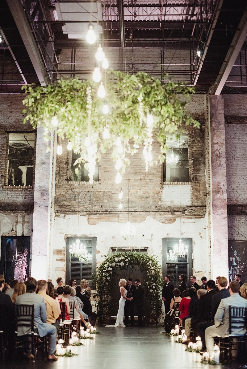 hanging greenery wedding, hanging foliage installation, aria minneapolis, studio fleurette, floral arch.jpg
